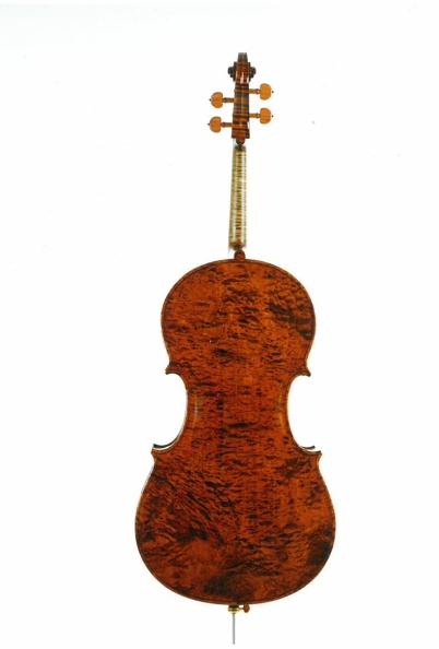 Cello back